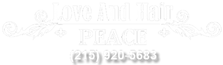 Love And Hair Peace logo